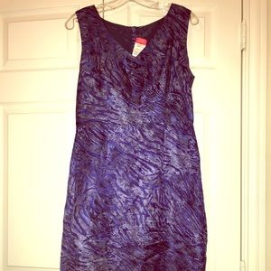 New blue grey dress with tags